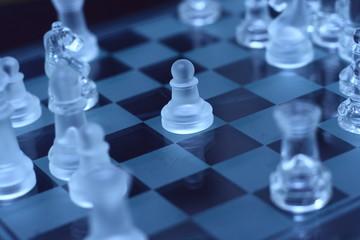 transparent pawn chess