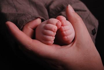 Baby Füße Hose Kleinkind Beine Mutter