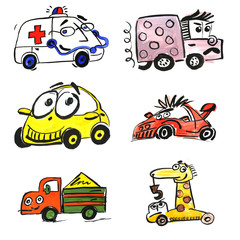 funny toy car 5