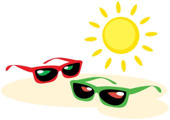 Sunglasses – Vector illustrations