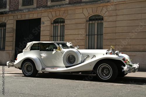 Voiture de collection pour mariage photo libre de droits - Comptoir de la voiture de collection ...