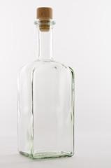 Leere Glasflasche