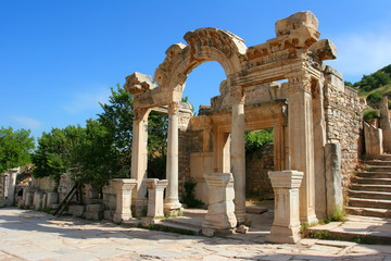 Temple of Hadrian, Ephesus, Turkey
