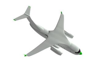 airplane. 3d