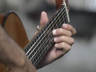Arpegio de guitarra española