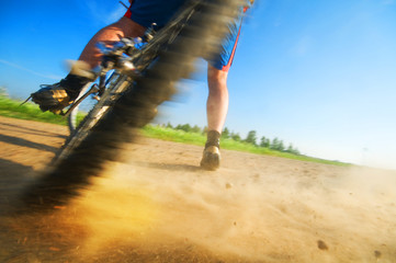 Extreme cycling sport