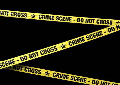 Banderole Crime Scene 2
