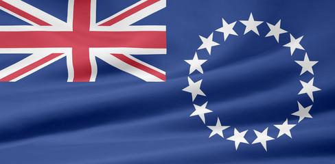 Flagge der Cookinseln