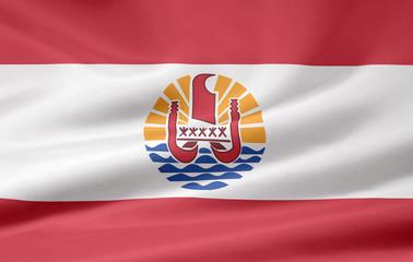 Flagge von Französisch Polynesien