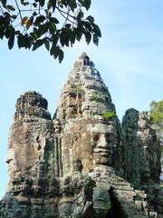 heads of king jayavarman vii
