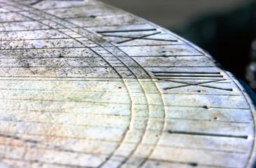 Sundial background - twelve