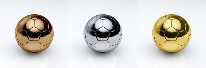 Soccerball Metal