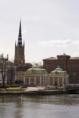 Riddarhuset & Riddarholmskyrka Stockholm, Schweden