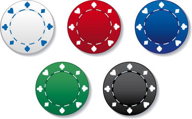 JETONS CASINO - Poker