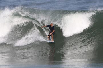 équilibre sur la vague