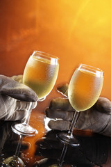 Hard work deserves a good wine!