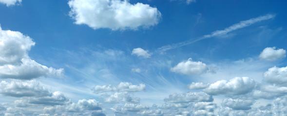 Keuken foto achterwand Hemel Fleecy clouds XXL