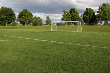 Vacant Soccer Pitch
