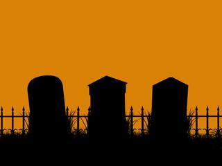 Halloween Illustration silhouette