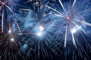 Fireworks, salute.