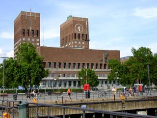 Rathaus Oslo.