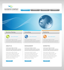 Business corporate web site template