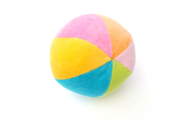 Soft colorful ball