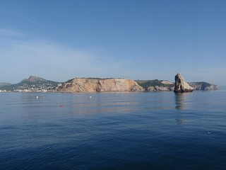 Mer d'huile sur la Costa Brava (Estartit)