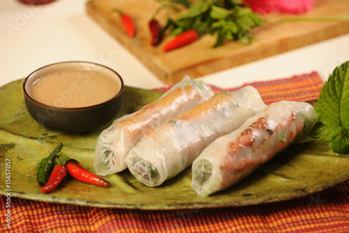 Vietnamese Food And Decorations Stock Photo And Royalty Free Images
