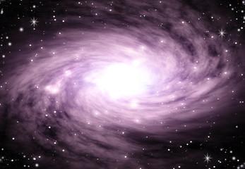 Purple Swirl Space