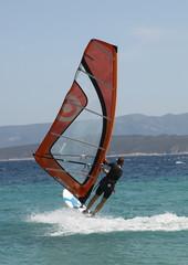 Windsurfing @ Zlatni rat beach, Croatia