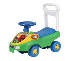 Kid`s toy. Clipping path