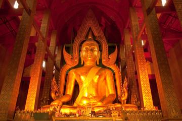 Giant Buddha image in Thailand