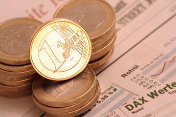 Euro erfolgreich an der Börse