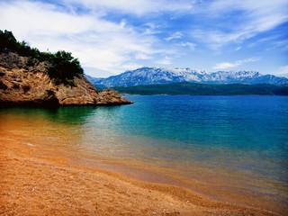 perfect beach on the Adriatic sea