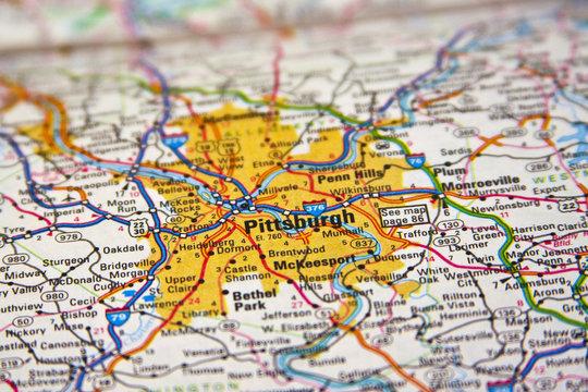 Map Pittsburgh