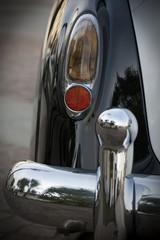 Papiers peints Rouge, noir, blanc Old car