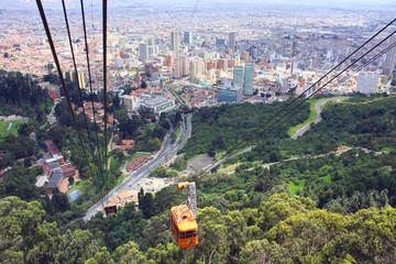 Poster South America Country Bogota, Kolumbien