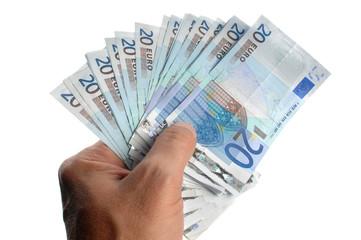 bonne transaction financière en espèces