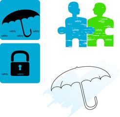 safety - icon set