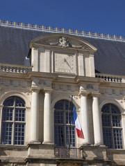 façade du parlement