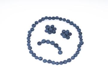 Blueberry Sad Smile