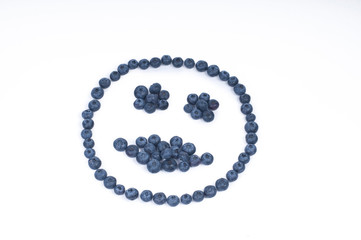 Blueberry Kissing Smile