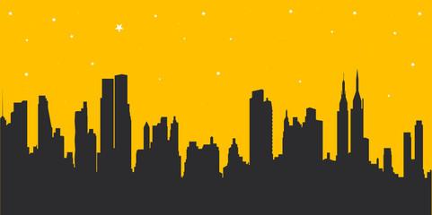 american cityscape