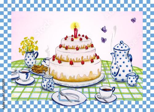 Kaffee Und Kuchen Stockfotos Und Lizenzfreie Bilder Auf Fotolia Com