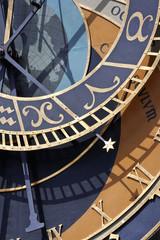 detail of astronomical clock, prague