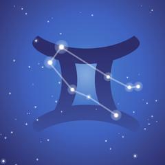 Constellation des gémeaux