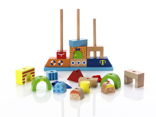 Building a childs wooden toy