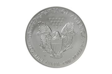 American Silver Eagle Coin, reverse