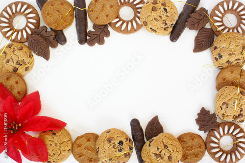 Christmas Cookies Border Stock Photo And Royalty Free Images On